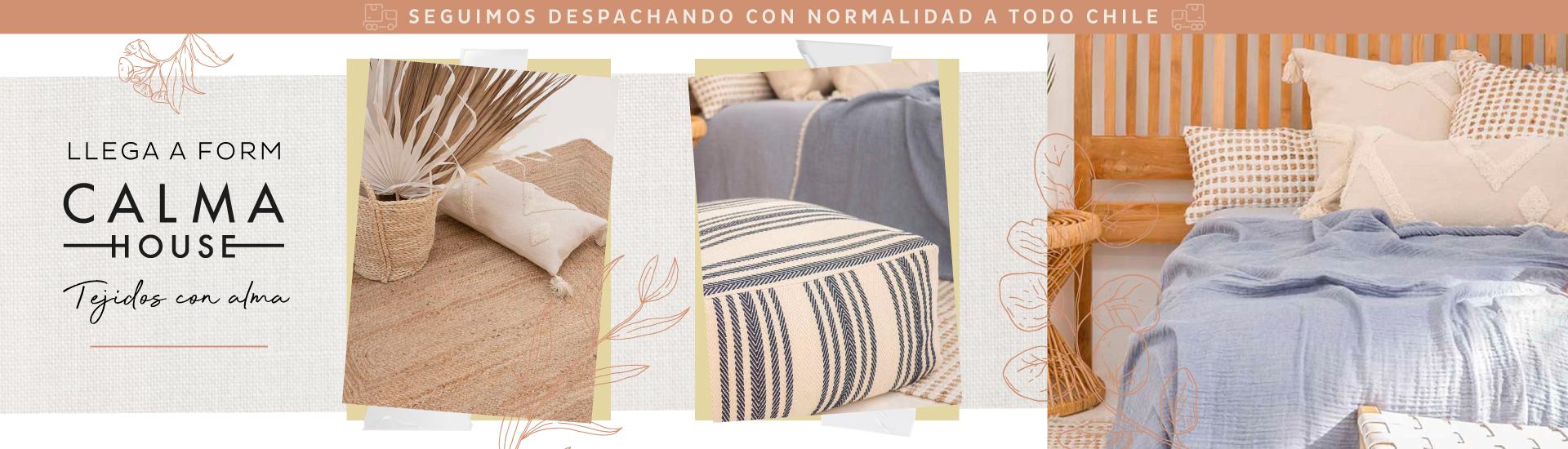 Calma House, tejidos con alma en Form Design