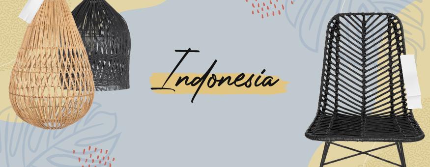 Coleccion Indonesia, Muebles y complementos de diseño