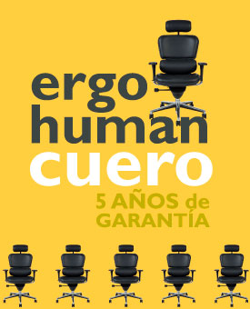 Silla Escritorio Ergohuman Cuero