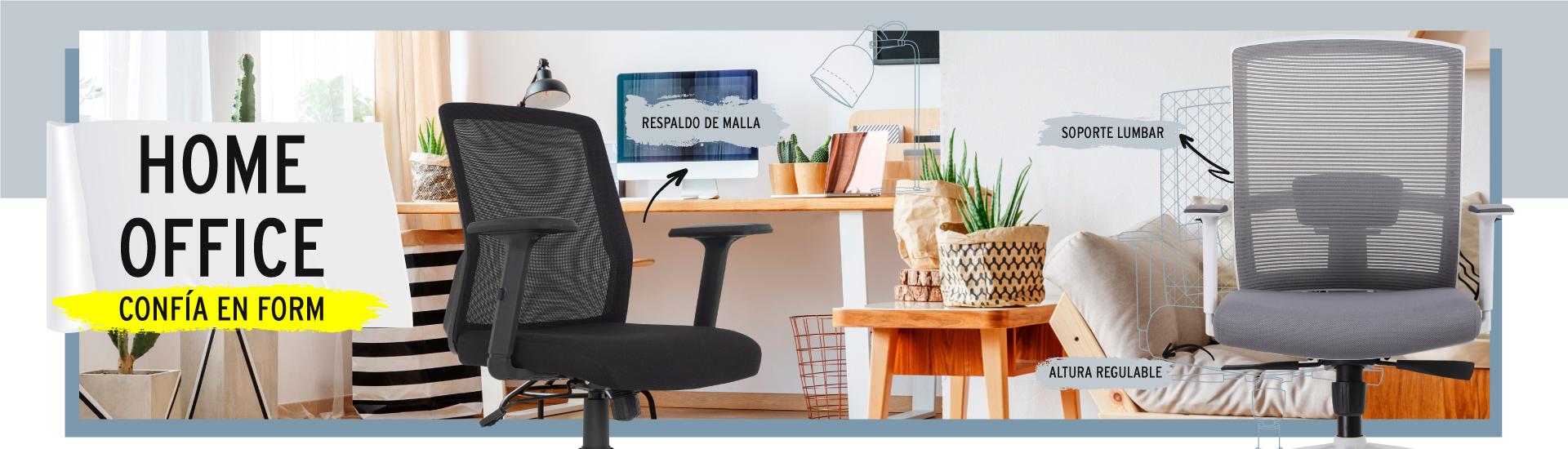 Sillas de oficina o escritorio